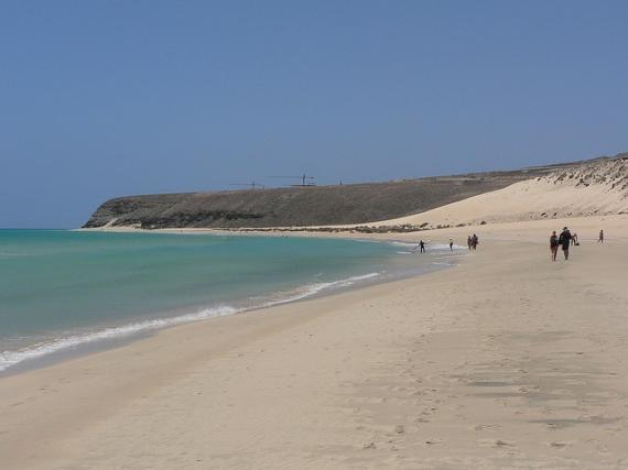 Costa Calma the Sand Paradise of Fuerteventura!